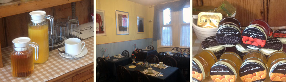 Breakfast room at the Cleasewood