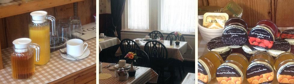 Restaurant at the Cleasewood Guest House