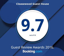 booking.com9.7 Guest review awards