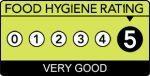 Food hygiene rating 5 - very good